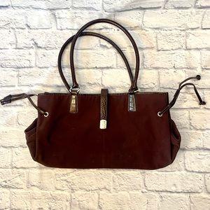 Lauren Ralph Lauren Burgundy Shoulder Bag